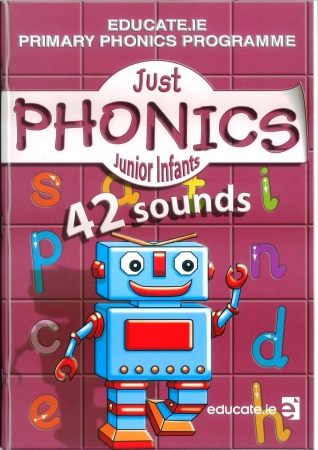 Just Phonics Junior Infants Pack - 42 Sounds - Workbook & Sounds Booklet