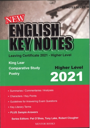 New English Key Notes 2021 Higher Level