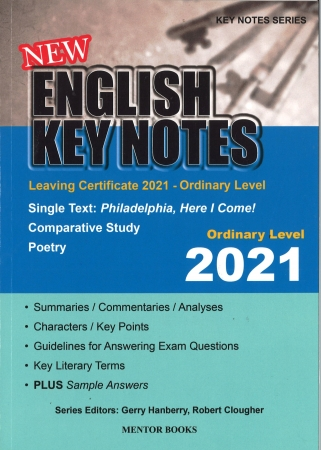New English Key Notes 2021 Ordinary Level