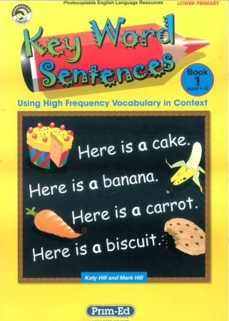 Key Word Sentences Book 1 - Ages 4-5