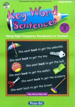 Key Word Sentences Book 3 - Ages 6-7