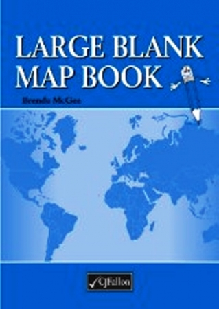 Large Blank Mapbook