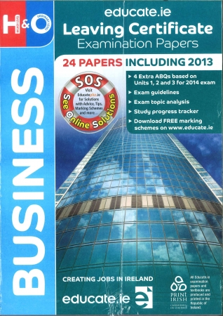Leaving Cert Business Higher & Ordinary Level - Includes 2018 Exam Papers