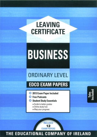 Leaving Cert Business Ordinary Level - Includes 2018 Exam Papers
