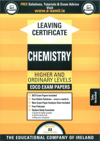 Leaving Cert Chemistry Higher & Ordinary Levels - Includes 2016 Exam Paper