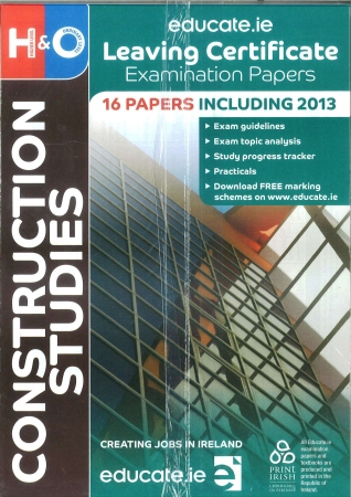 Leaving Cert Construction Studies Higher & Ordinary Level - Includes 2018 Exam Papers
