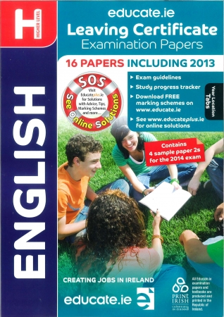 Leaving Cert English Higher Level - Includes 2014 Exam Paper