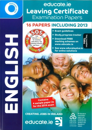 Leaving Cert English Ordinary Level - Includes 2014 Exam Paper