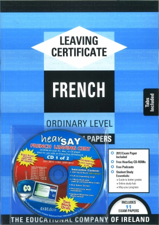 Leaving Cert French Ordinary Level - Includes 2016 Exam Paper