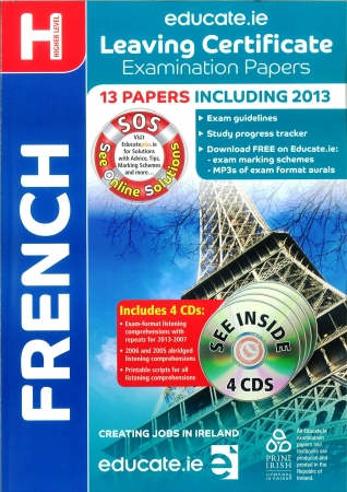 Leaving Cert French Higher Level - Includes 2016 Exam Paper