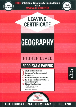 Leaving Cert Geography Higher Level - Includes 2018 Exam Papers