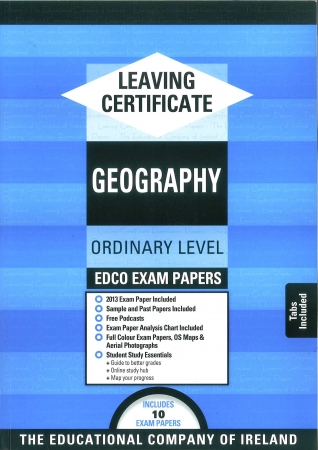 Leaving Cert Geography Ordinary Level - Includes 2018 Exam Papers