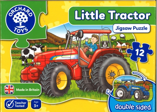 Little Tractor Jigsaw
