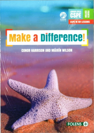 Make A Difference Pack - Textbook & Student Activity Book - 4th Edition - Junior Cycle CSPE