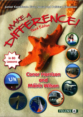 Make A Difference Pack - Textbook & Workbook - 3rd Edition - Junior Certificate CSPE
