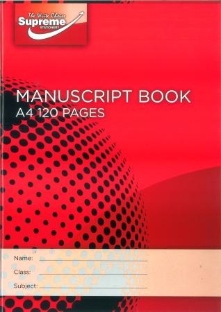 Manuscript Copy 120 Page A4