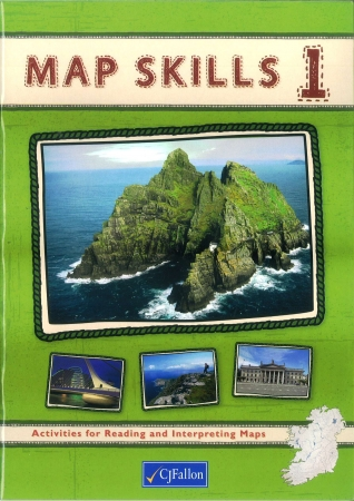 Map Skills 1 Pack - Workbook & Assessment Book - Fifth & Sixth Class