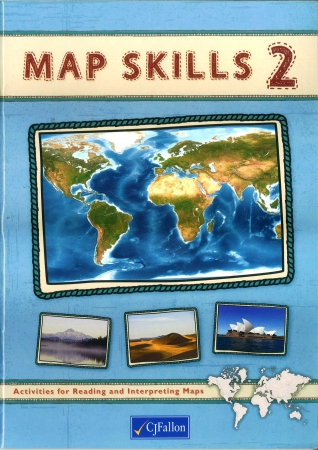 Map Skills 2 Pack - Workbook & Assessment Book - Fifth & Sixth Class