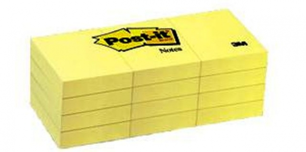 "Post-it Medium 3""x3"" 12 Pack"