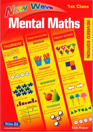 New Wave Mental Maths First Class - Revised edition