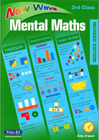New Wave Mental Maths Third Class - Revised edition