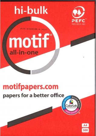 Motif A4 Ream Paper - 80gsm