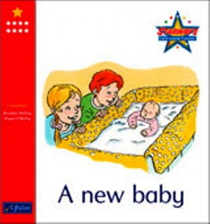 A New Baby - Core Reader 8 - Starways Stage One - Junior & Senior Infants