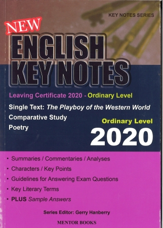 New English Key Notes 2020 - Leaving Certificate Ordinary Level