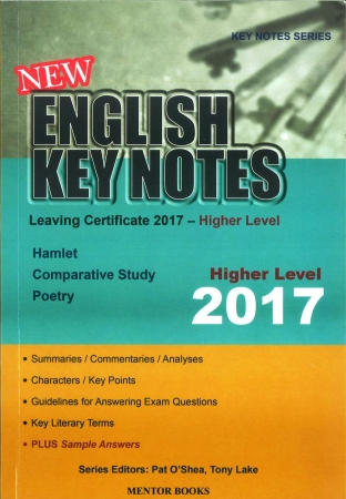 New English Key Notes 2017 - Leaving Certificate Higher Level