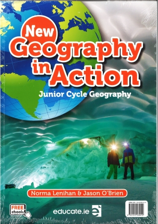 New Geography In Action Pack Textbook & Activity Book Junior Cycle Geography