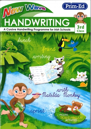 New Wave Handwriting - Third Class - A Cursive Programme For Irish Schools