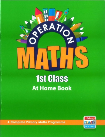 Operation Maths 1 - At Home Book - First Class