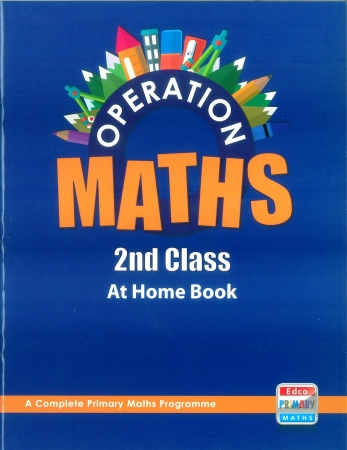Operation Maths 2 - At Home Book - Second Class