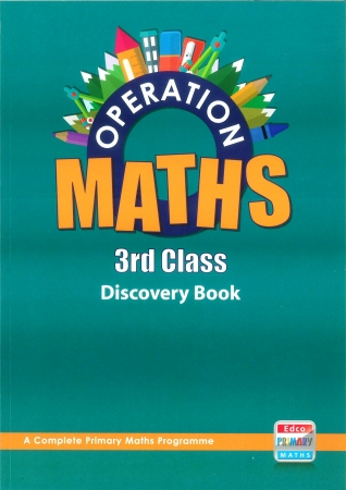 Operation Maths 3 - Discovery Book - Third Class
