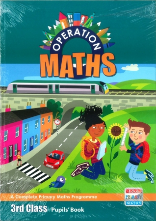 Operation Maths 3 Pack - Pupil's Book, Assessment Book & Discovery Book - Third Class