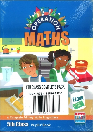 Operation Maths 5 Pack - Pupil's Book, Assessment Book & Discovery Book - Fifth Class