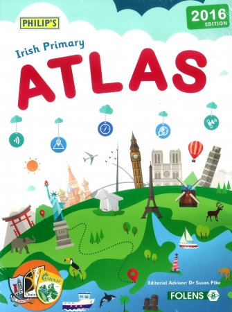 Philips New Irish Primary Atlas Pack - Atlas & Atlas Hunt