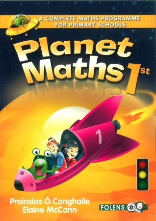 Planet Maths 1 - Textbook - 2nd Edition - First Class