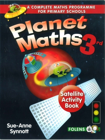 Planet Maths 3 - Satellite Activity Book - 2nd Edition - Third Class