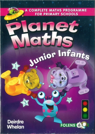 Planet Maths Junior Infants Pack - Textbook & Activity Book