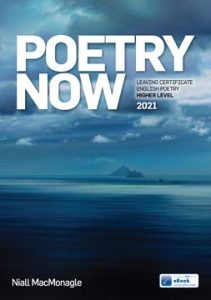 Poetry Now 2021 - Leaving Certificate English Poetry Higher Level - Includes Free eBook