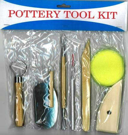 Pottery Tool Kit 8 Piece