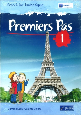 Premiers Pas 1 Pack - Textbook & Vocabulary Book - Junior Cycle French - Includes Free eBook