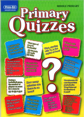 Primary Quizzes - Middle Primary