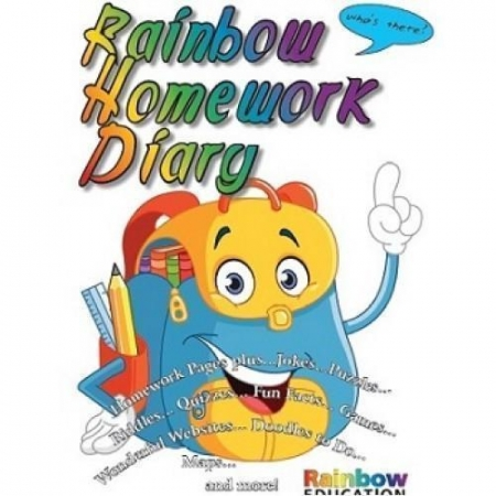 Rainbow Homework Diary / Journal