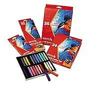 Reeves Chalk Pastels 24 Pack