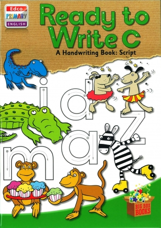 Ready To Write C - A Handwriting Book: Script - Big Box Adventures - First Class