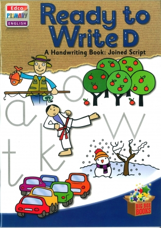 Ready To Write D - A Handwriting Book: Joined Script - Big Box Adventures - Second Class