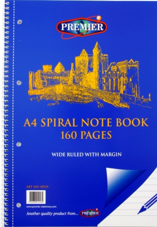 Refill Pad 160 Page A4 Side Spiral