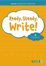 Ready Steady Write - Cursive A Set